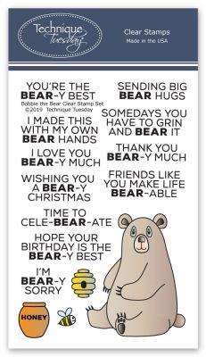 Bobbi the Bear Stamp Set