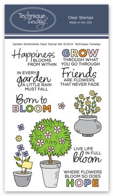 Garden Sentiments Stamp Set