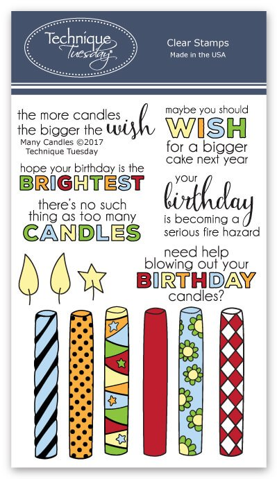 Happy Birthday Sentiments Stamp Sets Technique Tuesday