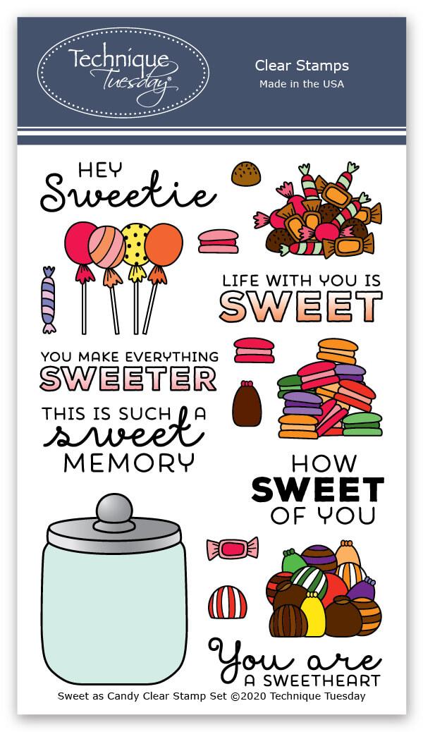 Sweet As Candy Stamps Scrapbooking Technique Tuesday