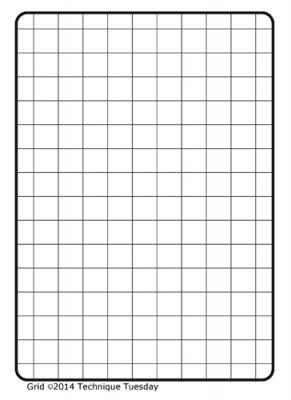 Grid Stamp Set