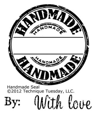 Handmade Seal Stamp Set