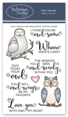You're Owlsome Stamp Set
